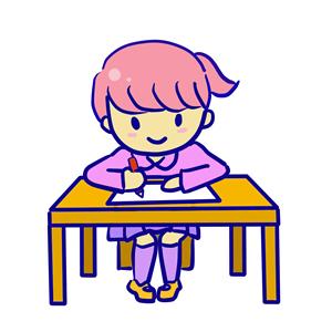 女の子が書くイラスト