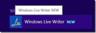 Windows Live Writerを開く