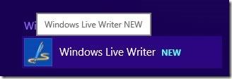 Windows Live Writerを開く